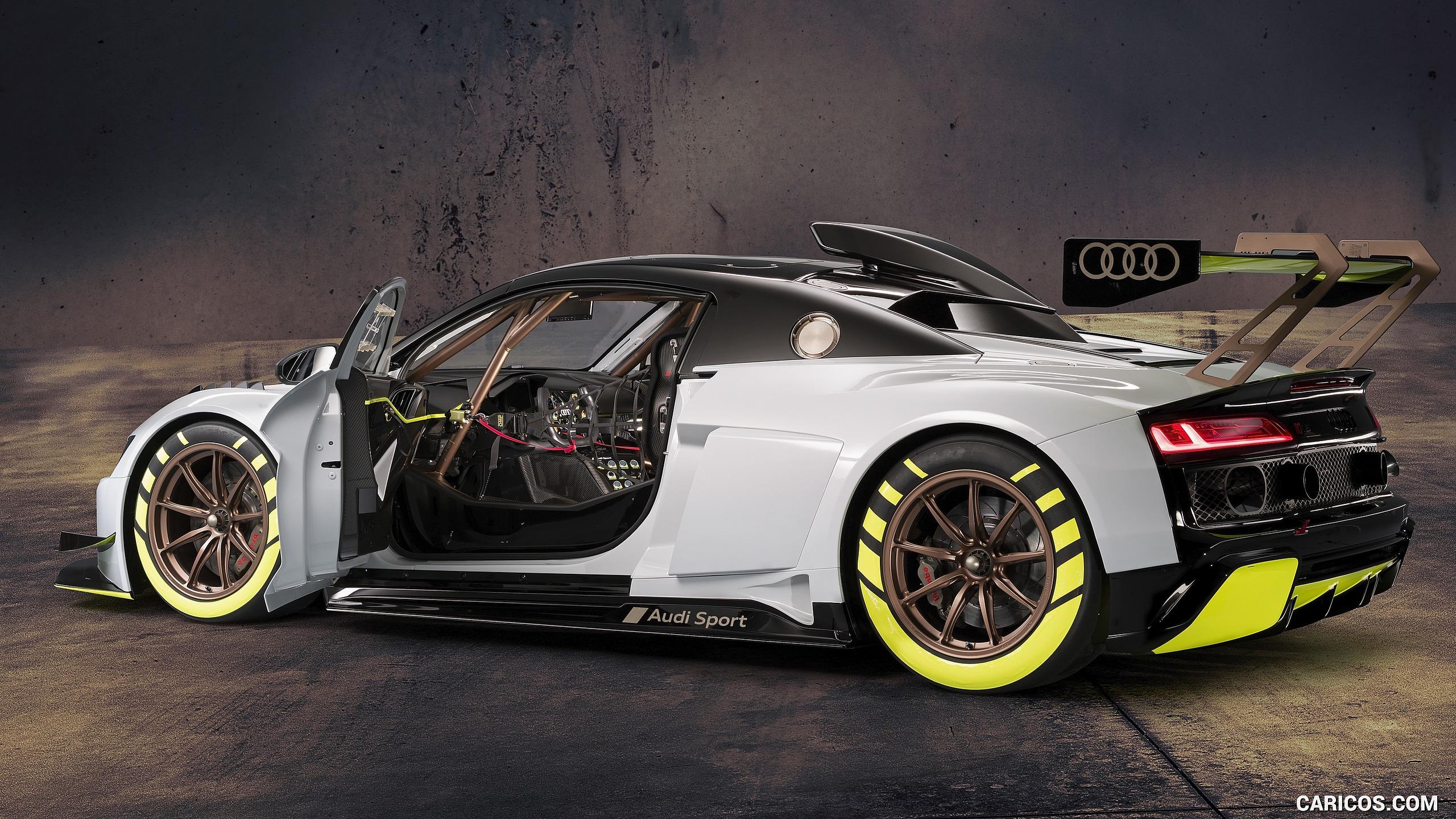 2020 Audi R8 LMS GT2   Rear Three Quarter HD Wallpaper 4 2560x1440