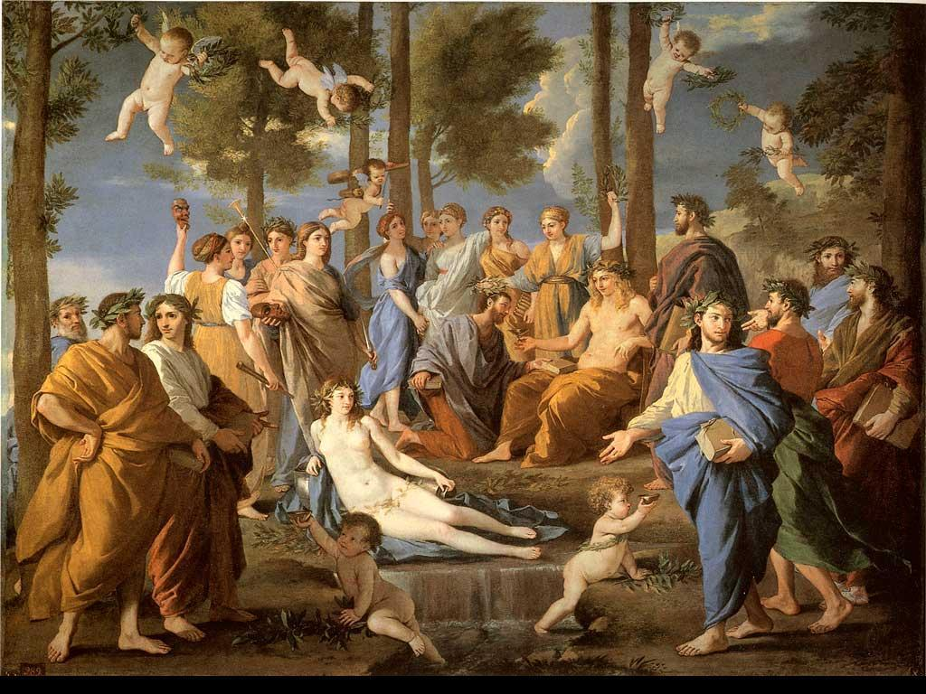 Free Download Apollo And Muses Greek Mythology Wallpaper