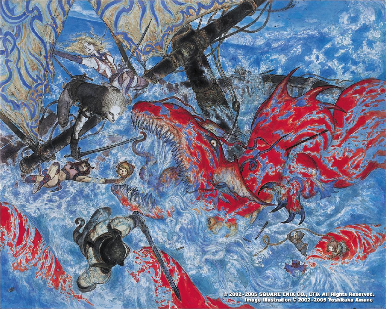 FFXI Wallpaper 1 of 5 by goukai 1280x1024