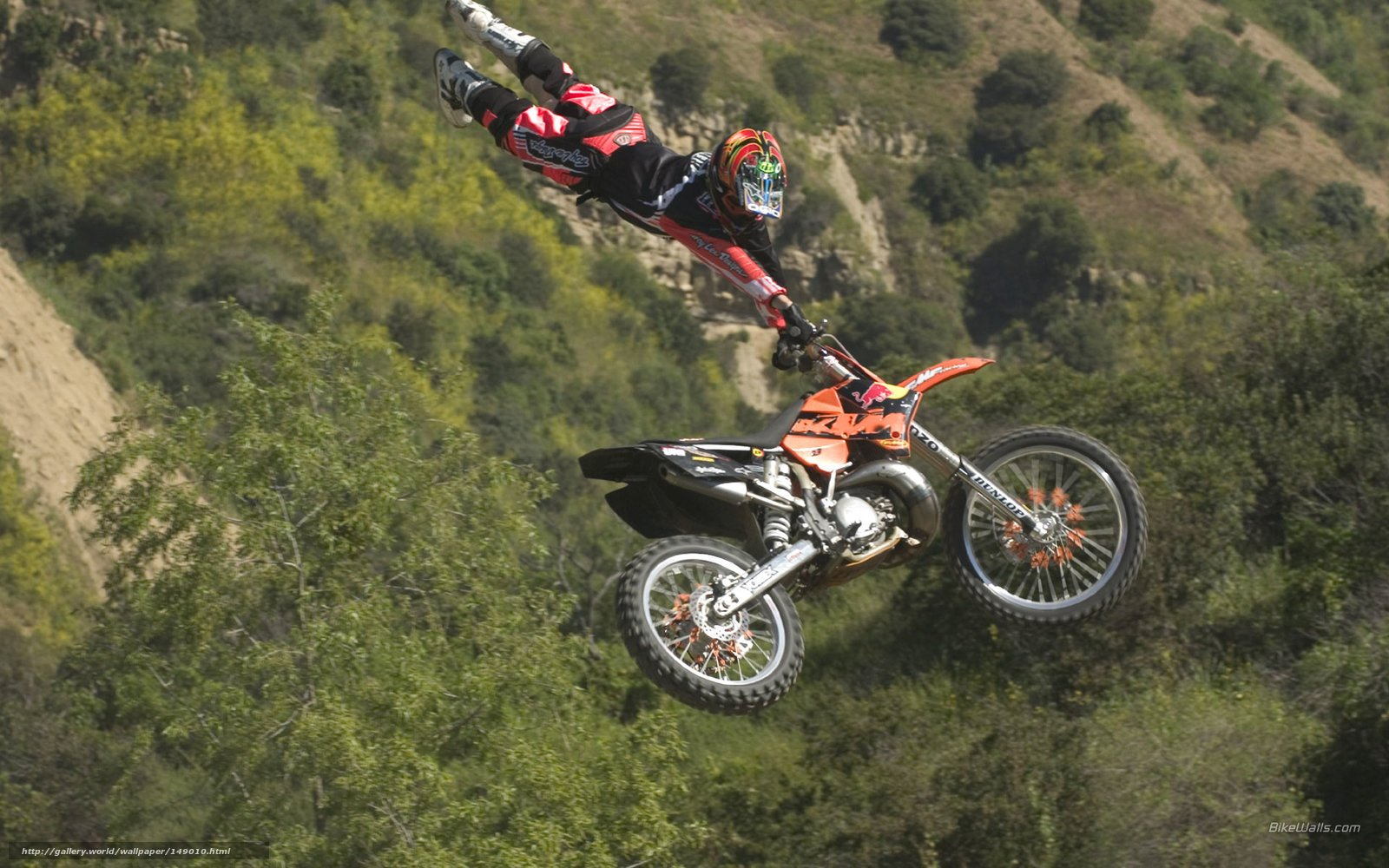 Download wallpaper KTM Motocross SX 125 SX 125 SX 2006 1600x1000
