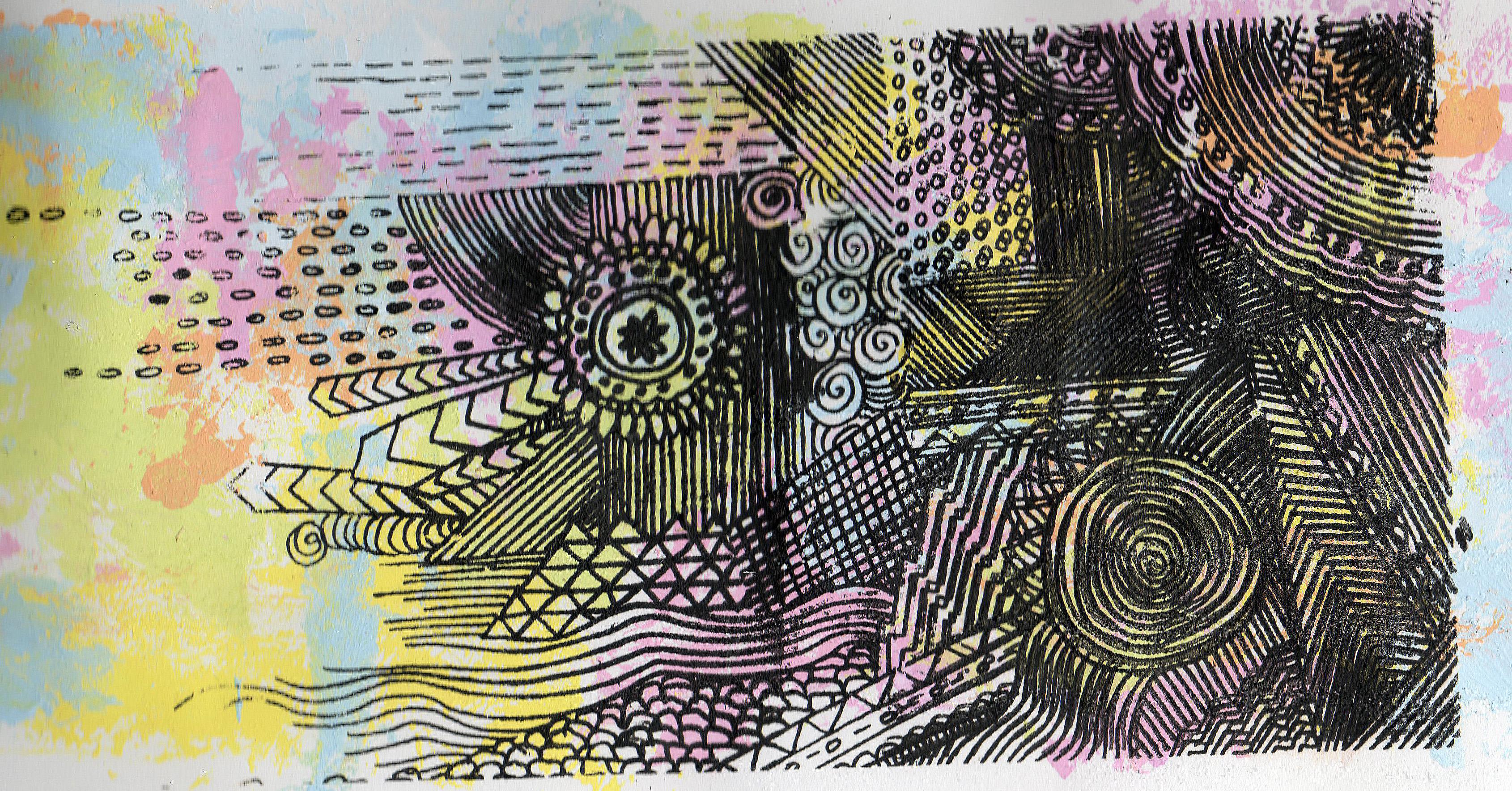 Screenprints of aztec background sarahmmortimer 3380x1768