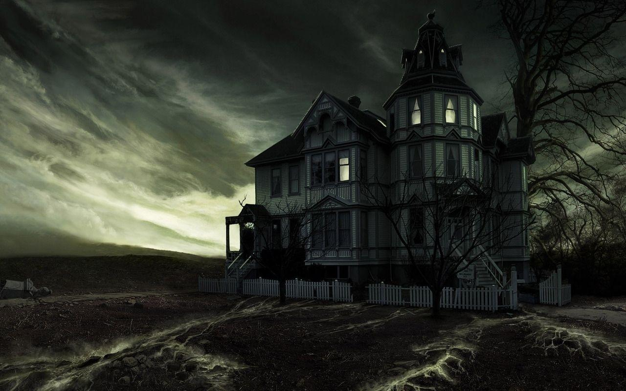Haunted House Backgrounds 1280x800