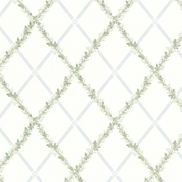 Bramwell Blue Harlequin Trellis Wallpaper Bolt   Wallpaper   by 640x640