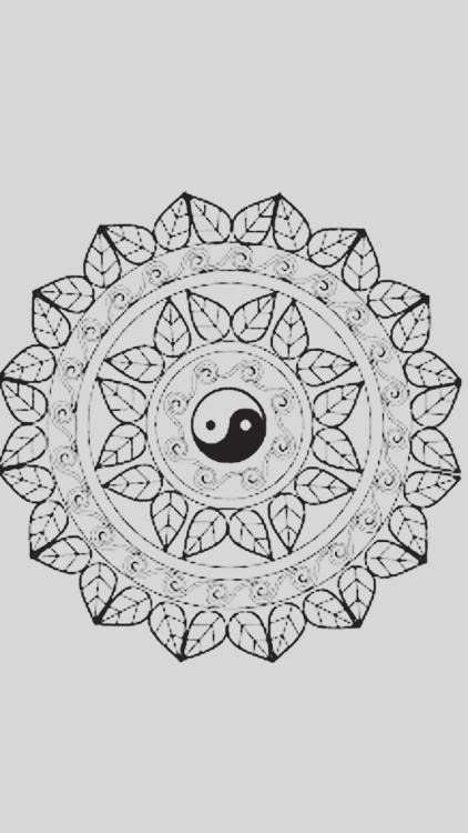 422x750px Mandala Wallpaper Tumblr Wallpapersafari