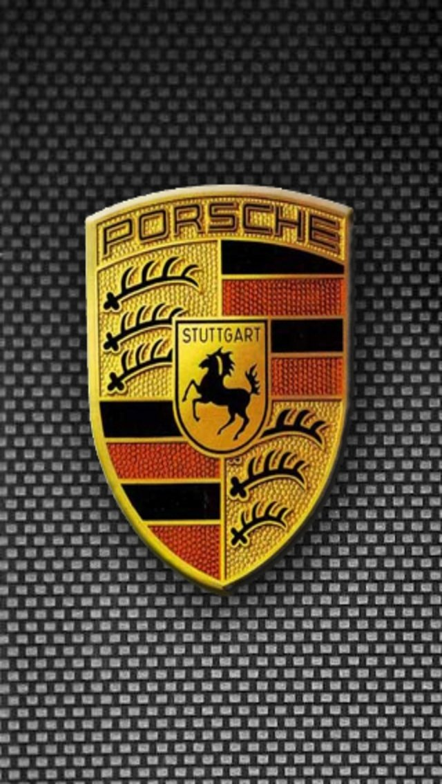 обои porsche логотип iphone