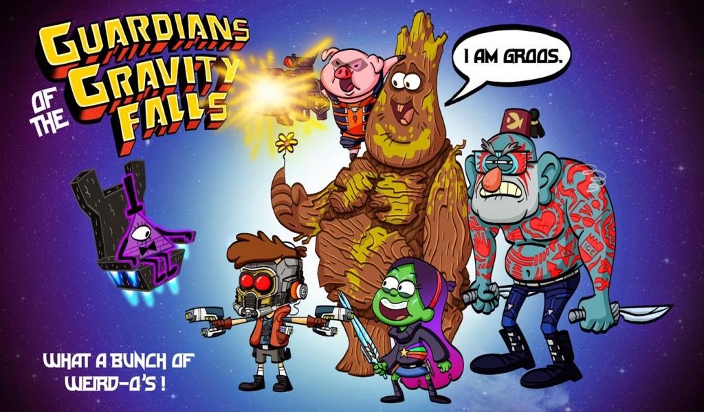 Free Download Gravity Falls 2015 Wallpaper Hd Guardians Of