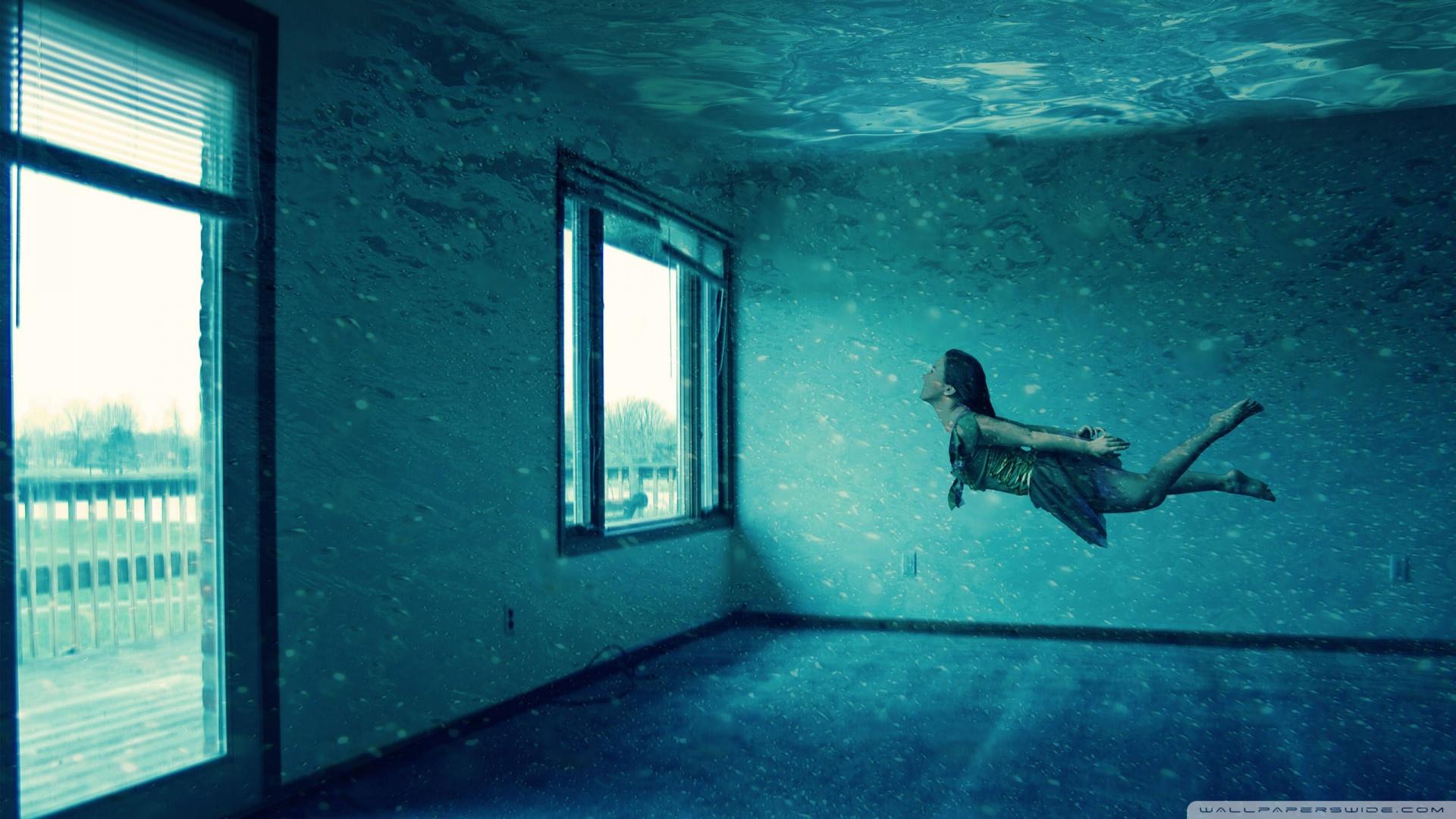 Underwater Room Wallpaper 1920x1080 Underwater Room 1920x1080