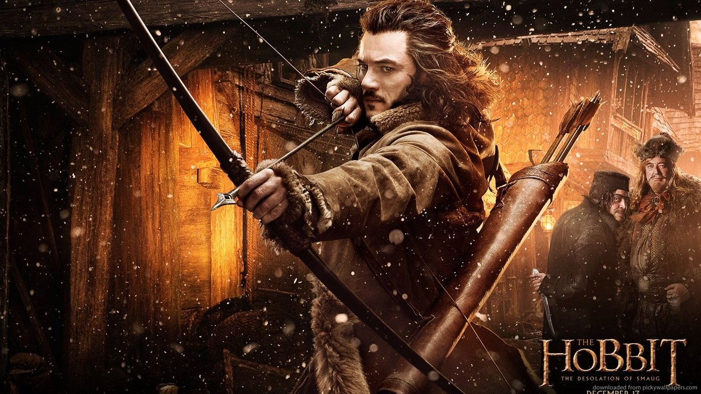 Download 1366x768 The Hobbit The Desolation Of Smaug Archer Wallpaper 1366x768