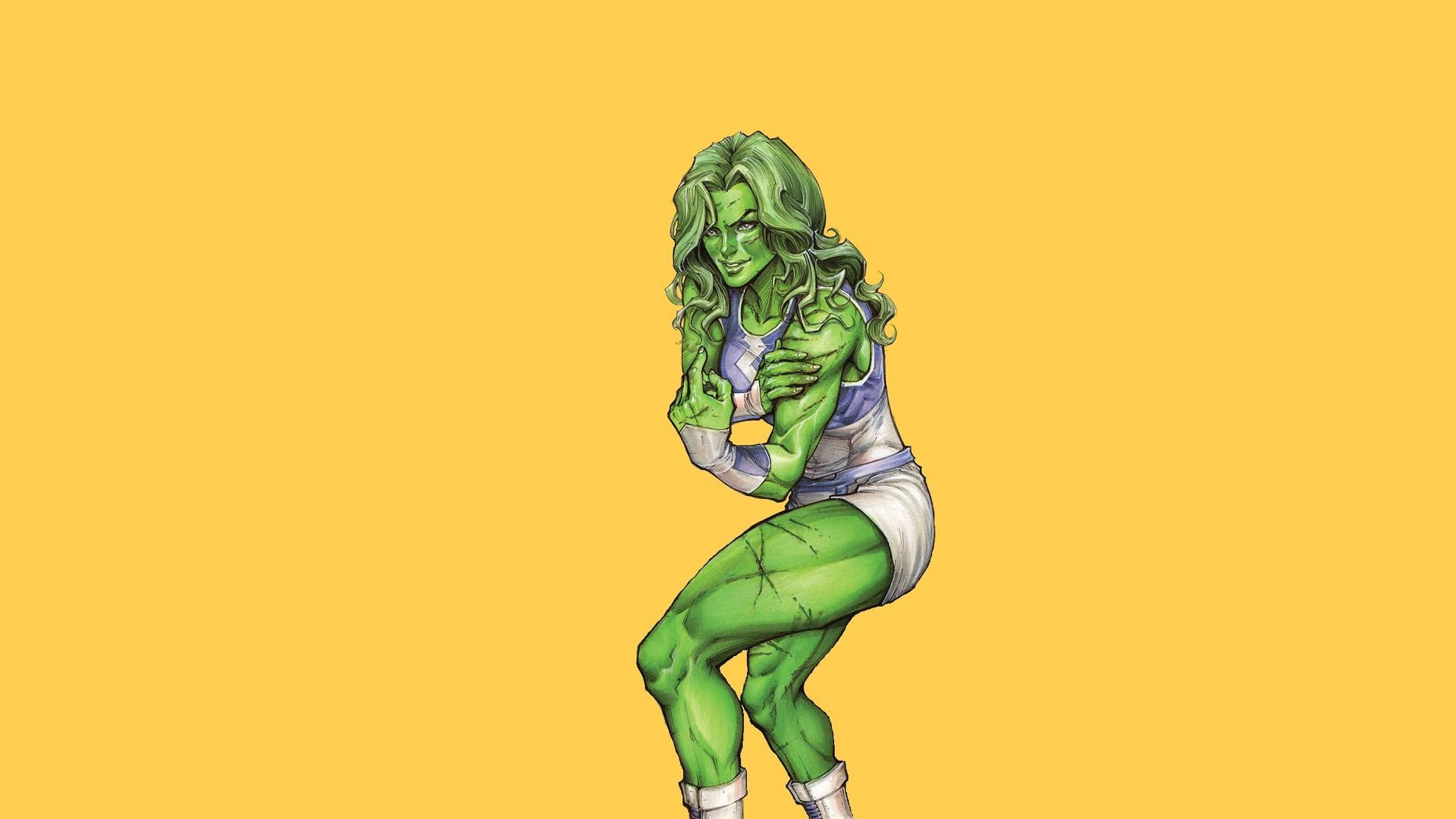 She Hulk Wallpaper 48685 1920x1080