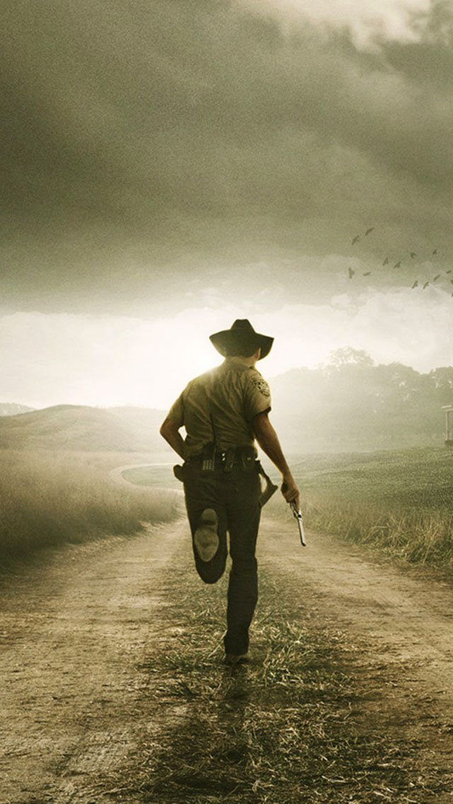 The Walking Dead Run   The iPhone Wallpapers 640x1136
