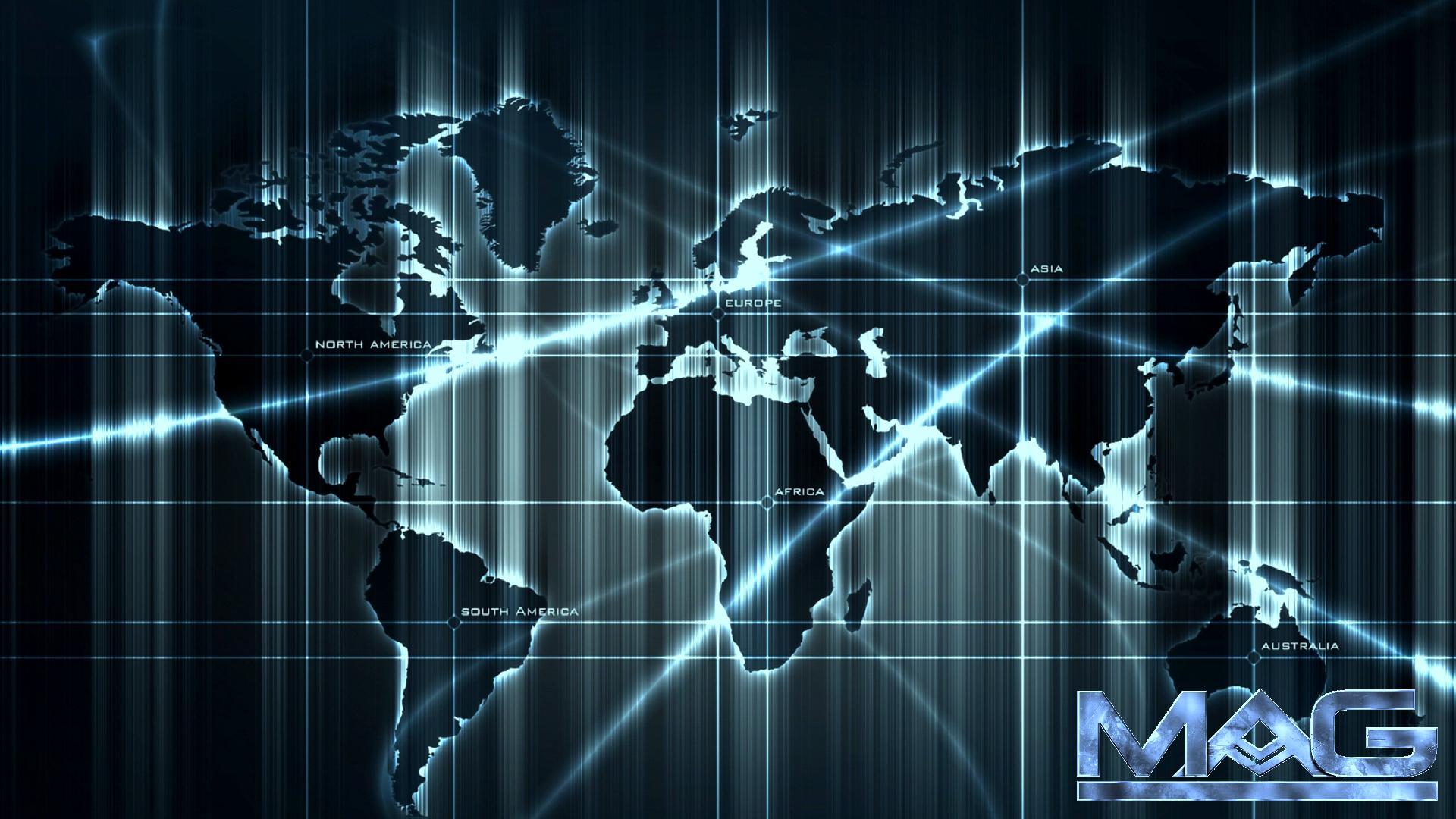 World Map wallpaper 74271 1920x1080