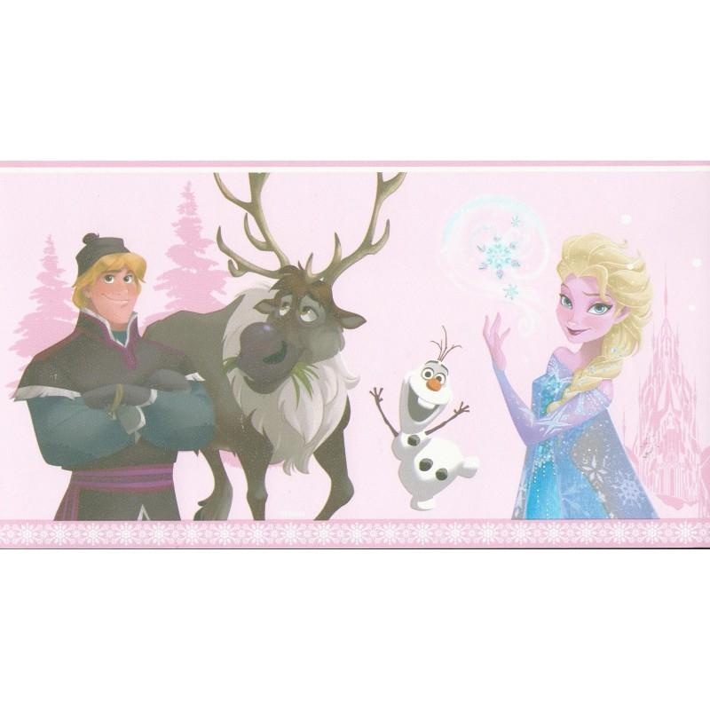Disney Frozen Border Disney Frozen Pink Self 800x800