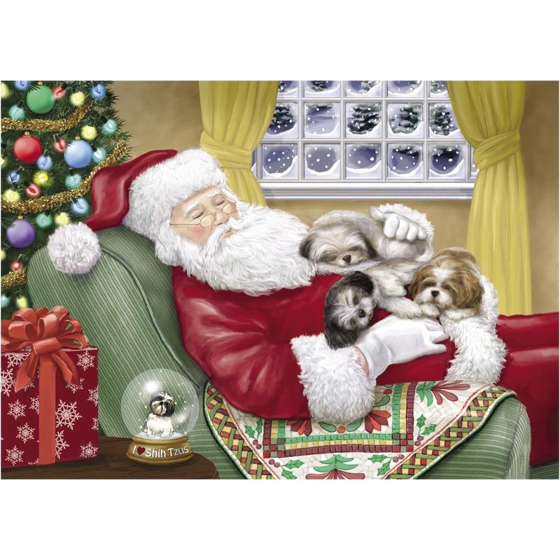 Shih Tzu Christmas Wallpaper - WallpaperSafari