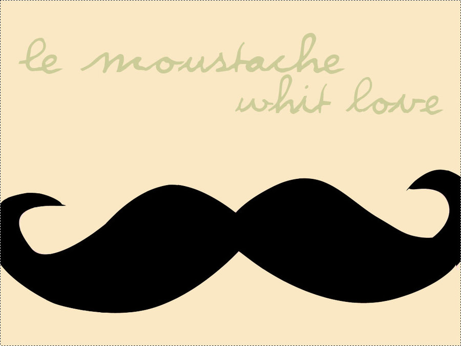 i love mustache wallpaper - photo #22