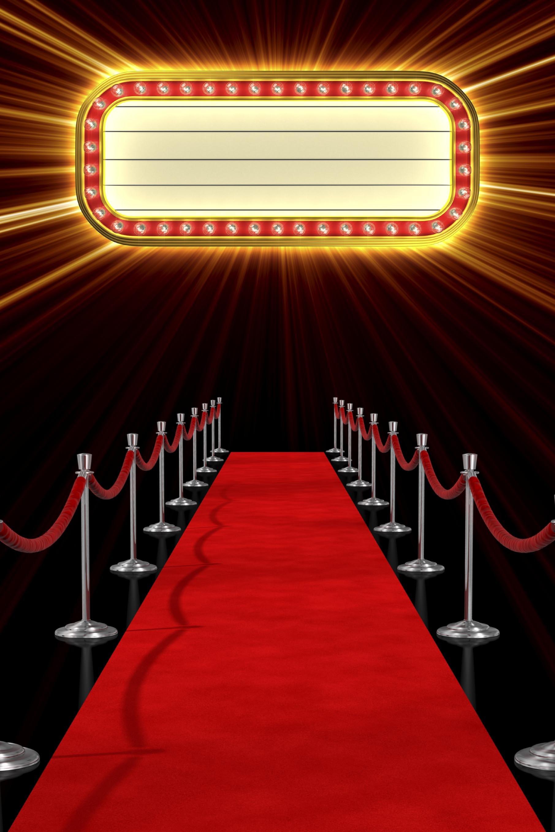 Atlanta Hollywood Red Carpet Marquee Background 1811x2714