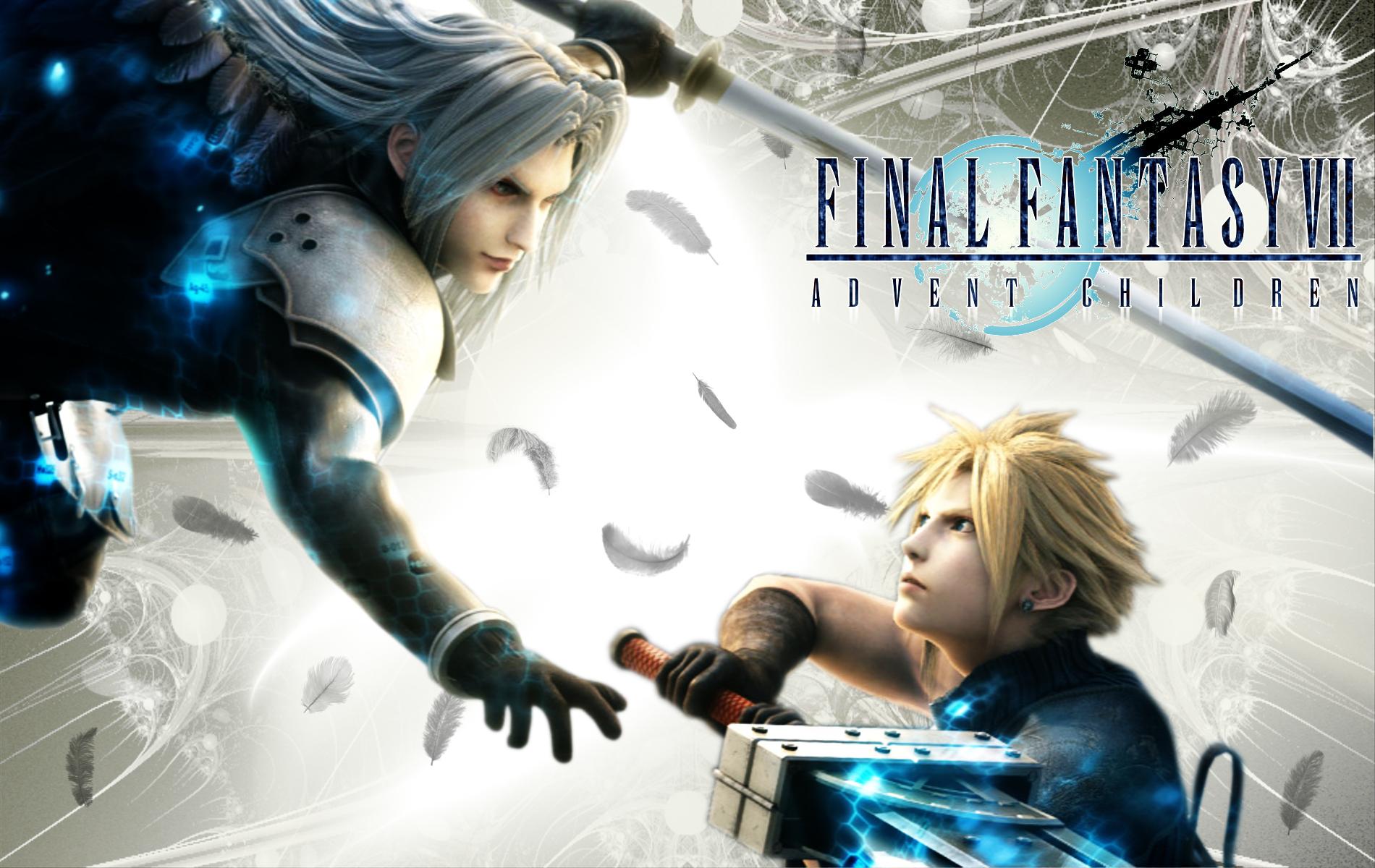 Final Fantasy 7 AC part 3 by ViciousJosh 1900x1200