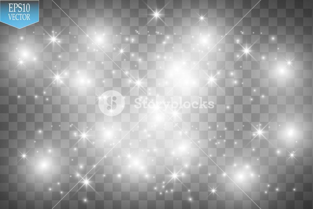 Vector white glitter wave illustration White star dust trail 1000x667