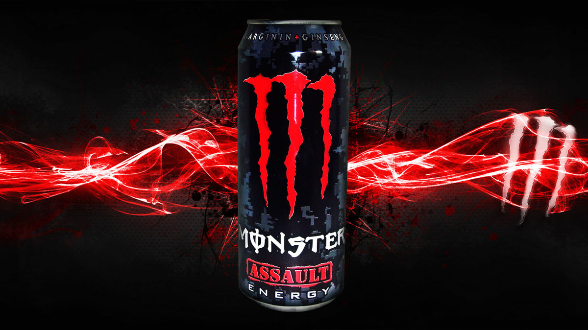 Monster Energy Drink Daily Backgrounds in HD 1200x674