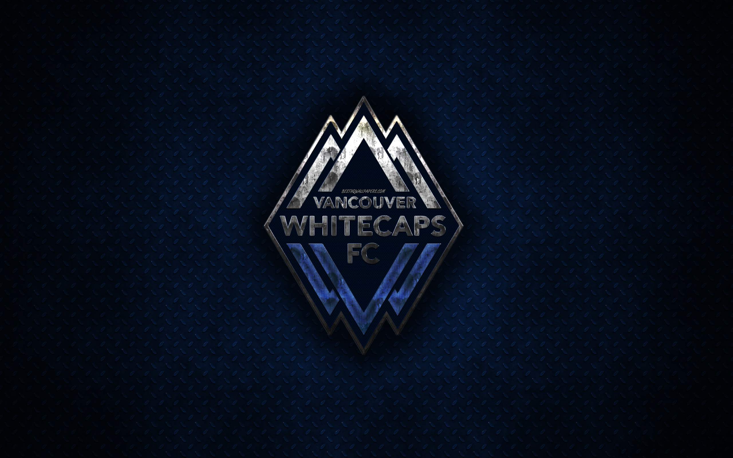 Soccer Vancouver Whitecaps FC MLS Logo Emblem wallpaper and 2560x1600