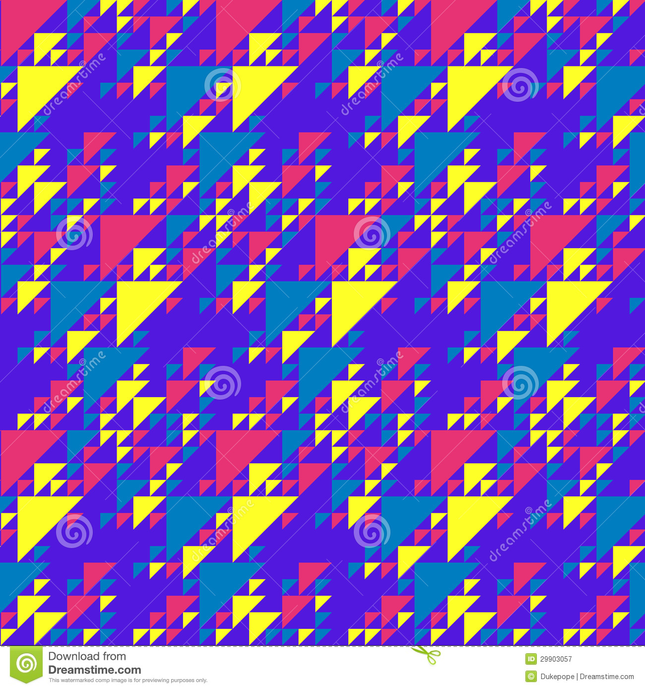 80s Patterns Triangles Retro triangles background 1300x1390