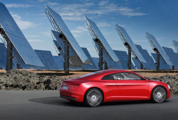 Wallpaper Audi E tron Audi Solar panel desktop wallpaper Cars 590x400