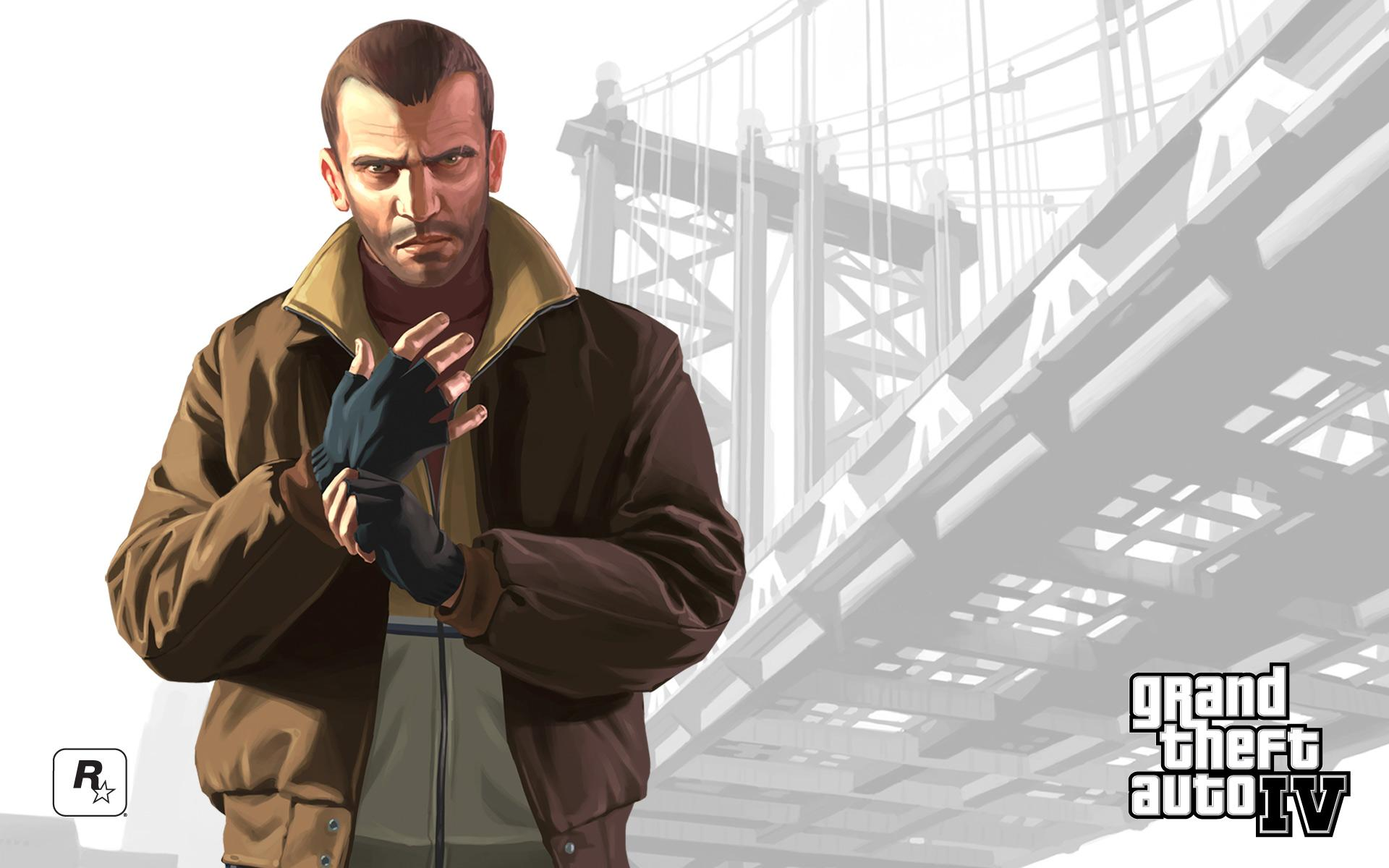Niko Grand Theft Auto IV Wallpapers HD Wallpapers 1920x1200