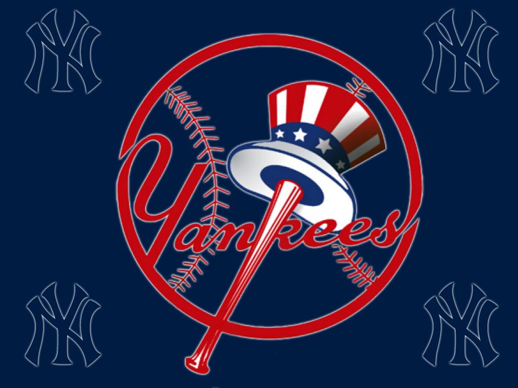 New York Yankees Logo Wallpaper 1024x768 Full HD Wallpapers 1024x768