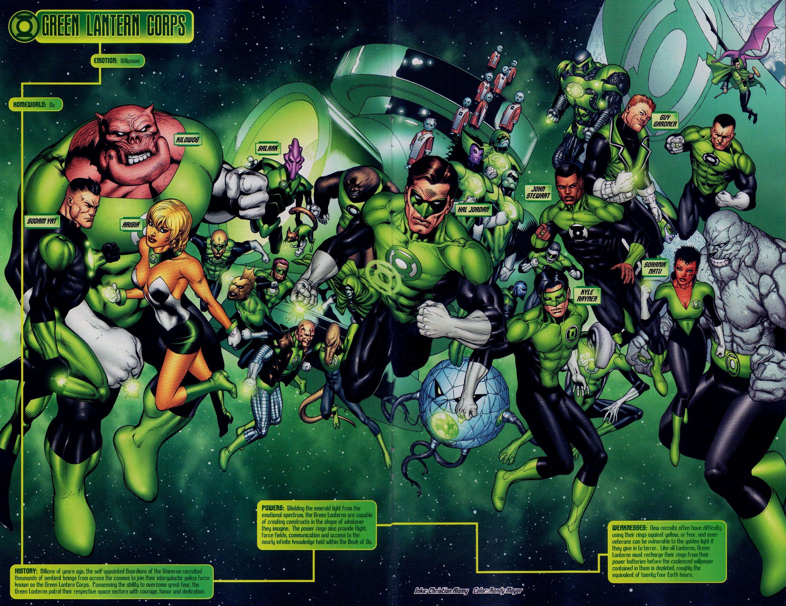 Green Lantern Corps Wallpapers   Top Green Lantern Corps 2560x1973