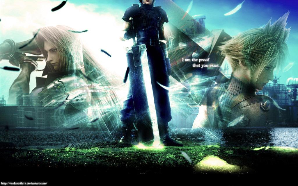 Final Fantasy VII HD by RubiaDmc 1024x640