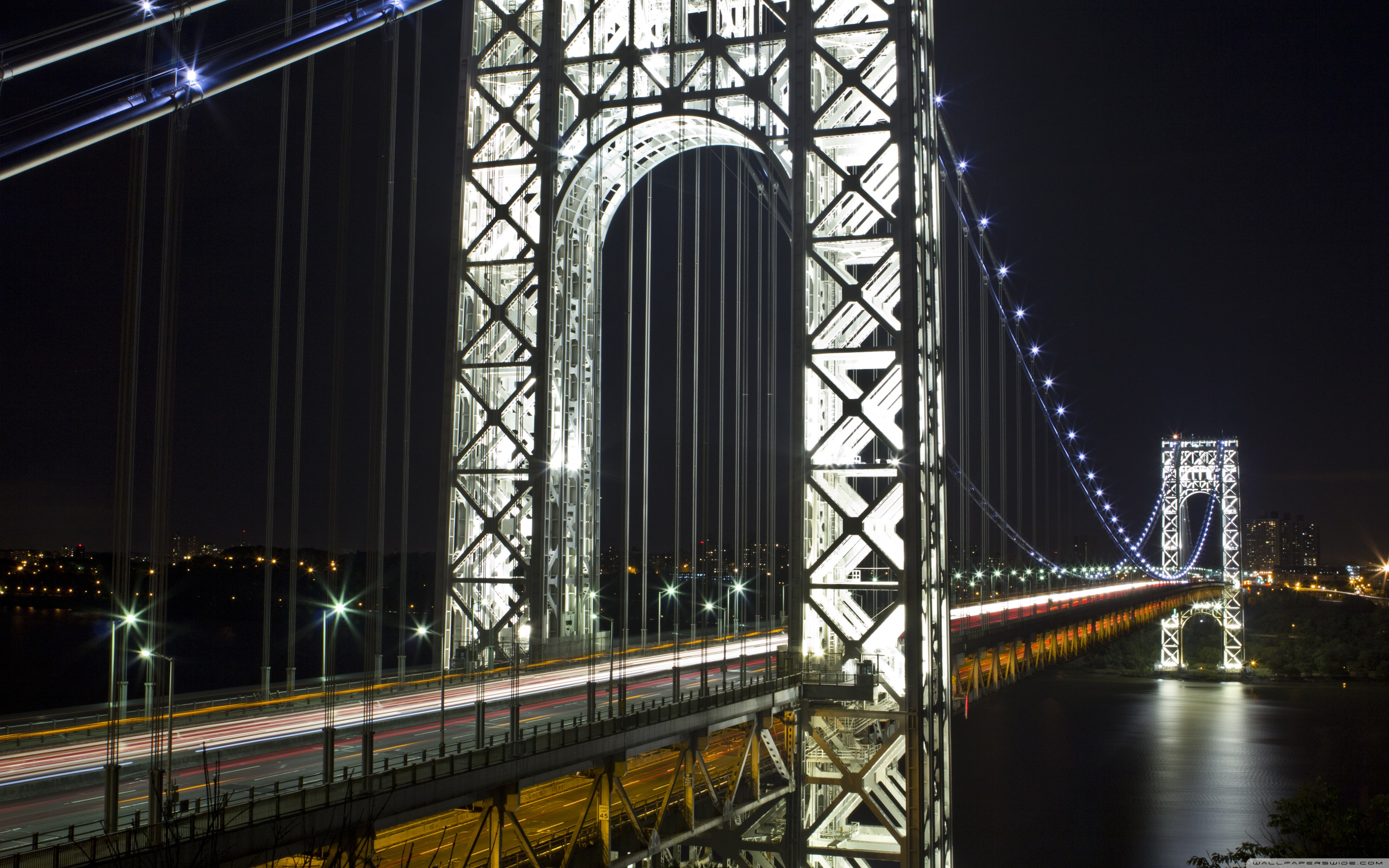 George Washington Bridge Wallpaper 12   3840 X 2400 stmednet 3840x2400