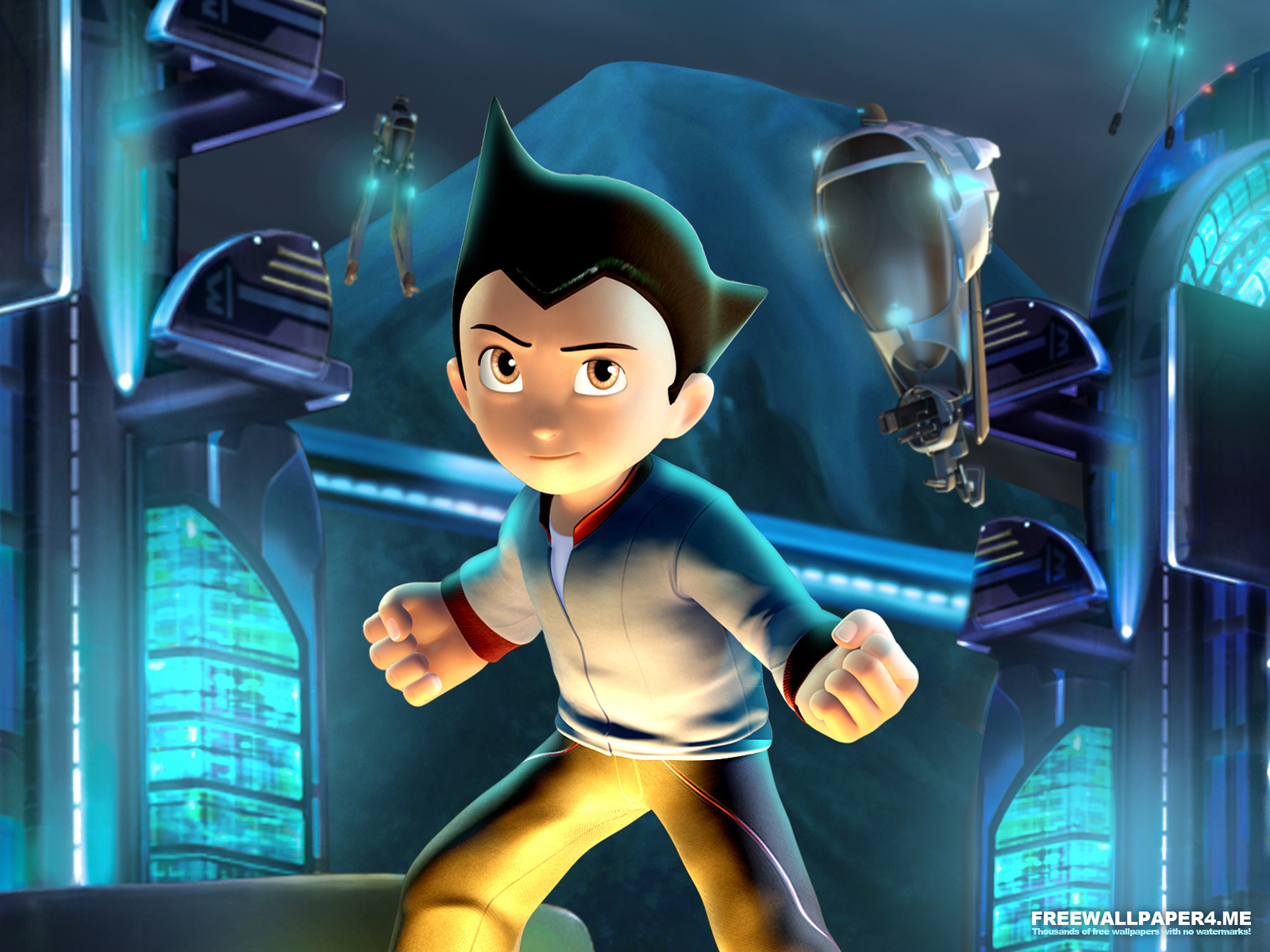 astro boy game wallpaper by fw4me fan art wallpaper games 2009 2015 1600x1200