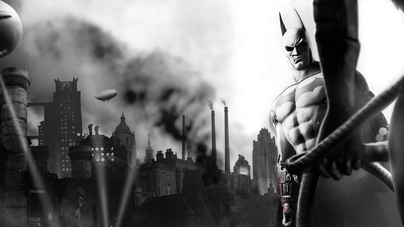 Batman   Arkham City wallpaper 3994 1366x768