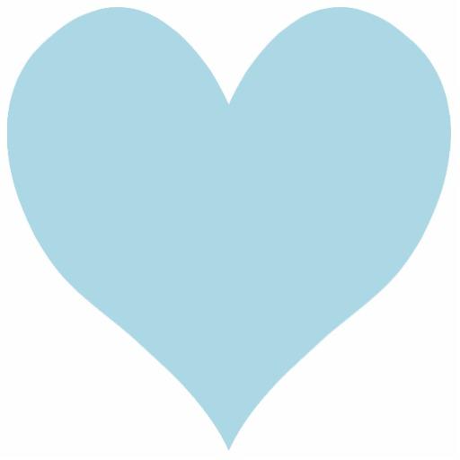 light blue heart background - photo #21