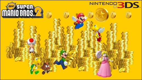 New Super Mario Bros 2 Owners Get DLC Coin Rush Course 500x281