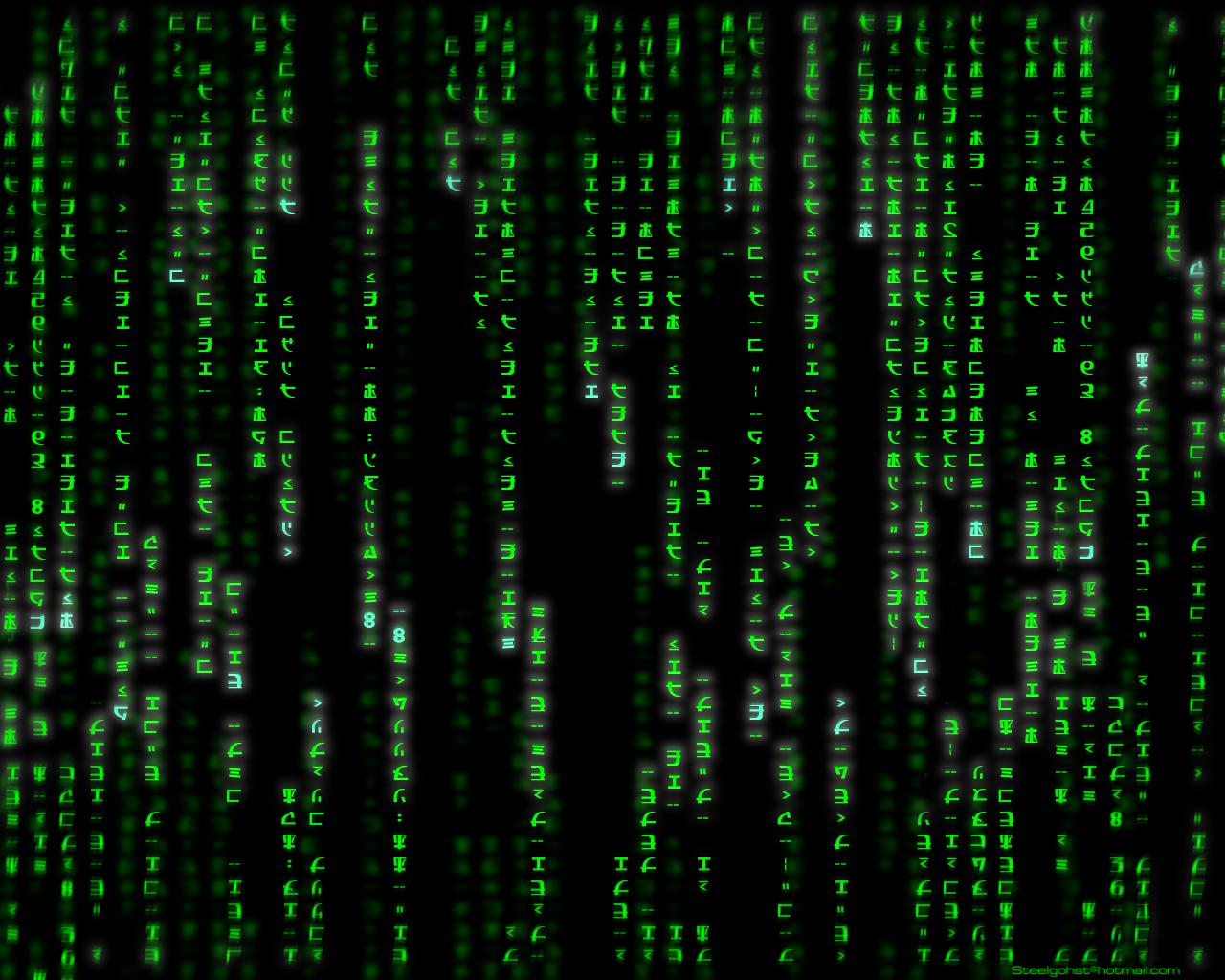 matrix green by steelgohst 1280x1024