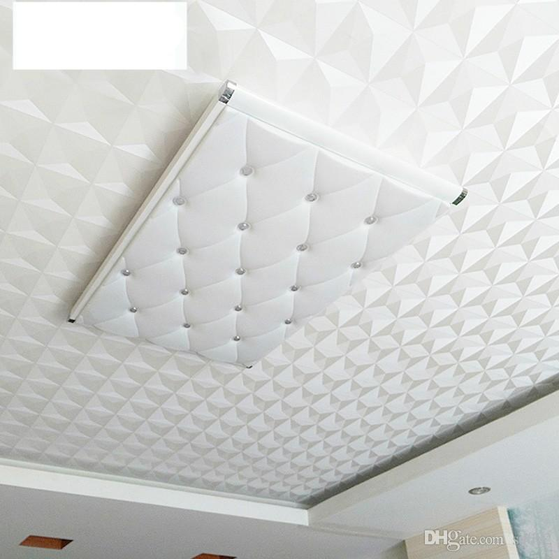 Compre Techo Suspendido 3D Wallpaper Classic Home Decor Diamantes 800x800