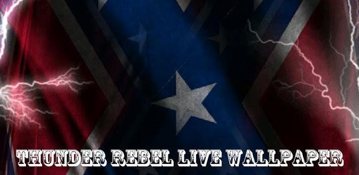 3D Rebel Flag Live Wallpaper 705x345