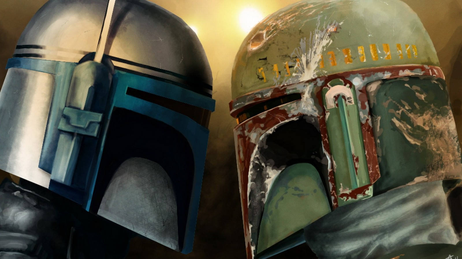 Jango Fett And Boba Fett Wallpaper 3 1600x900