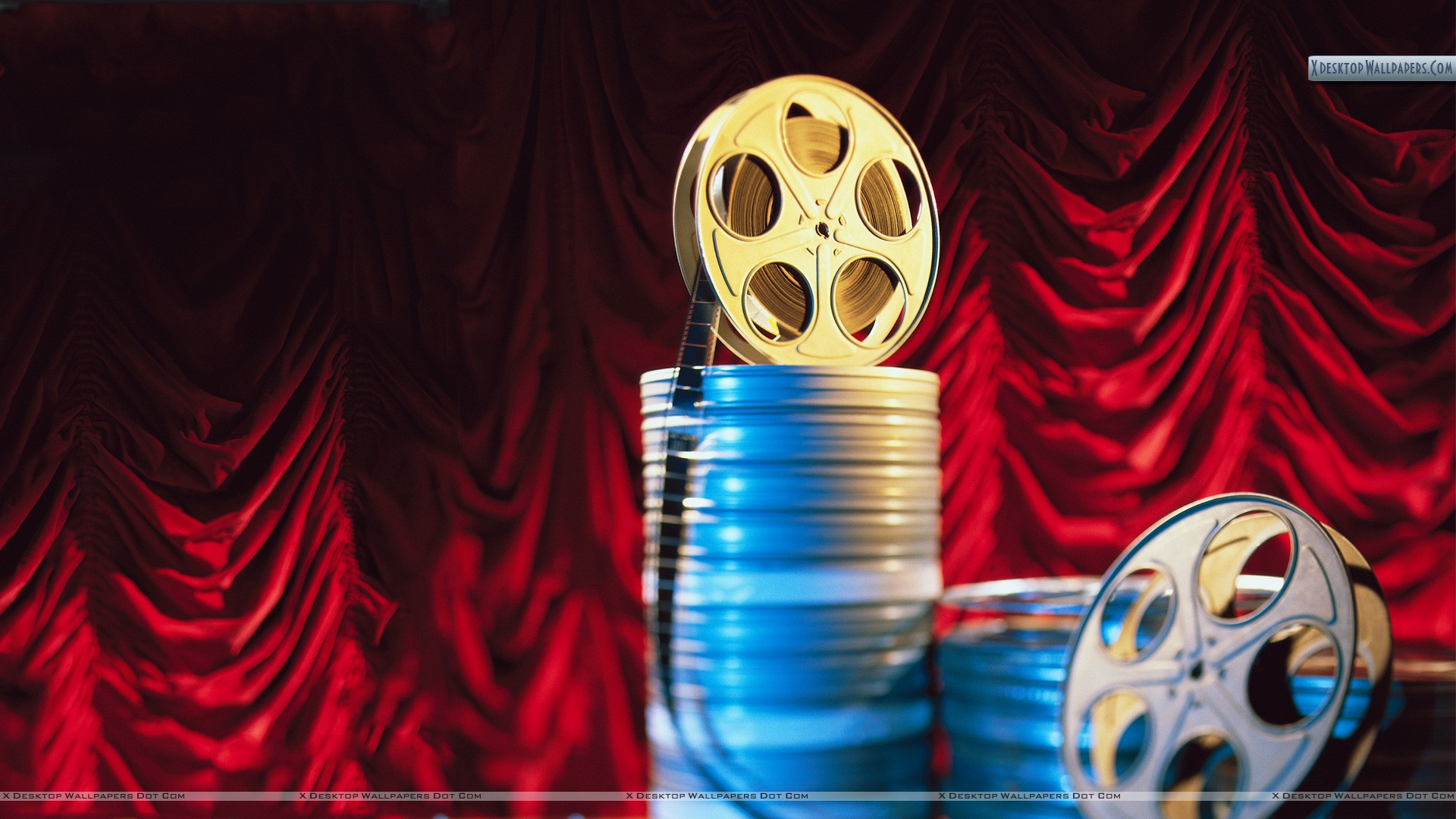 Movie Film Reels Wallpaper 1920x1080