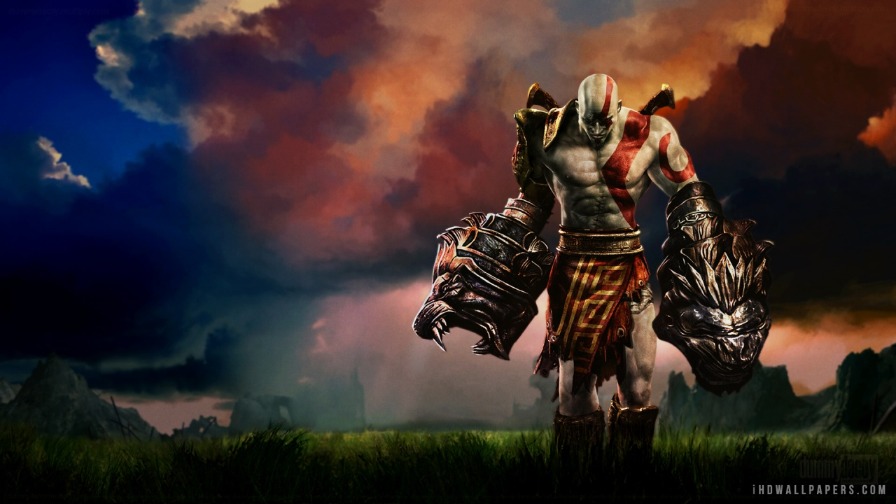 kratos wallpaper hd wallpapersafari
