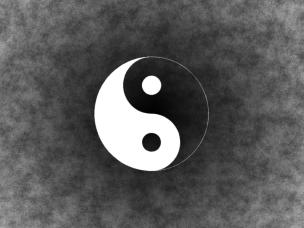 ying yang wallpaper - weddingdressin.com