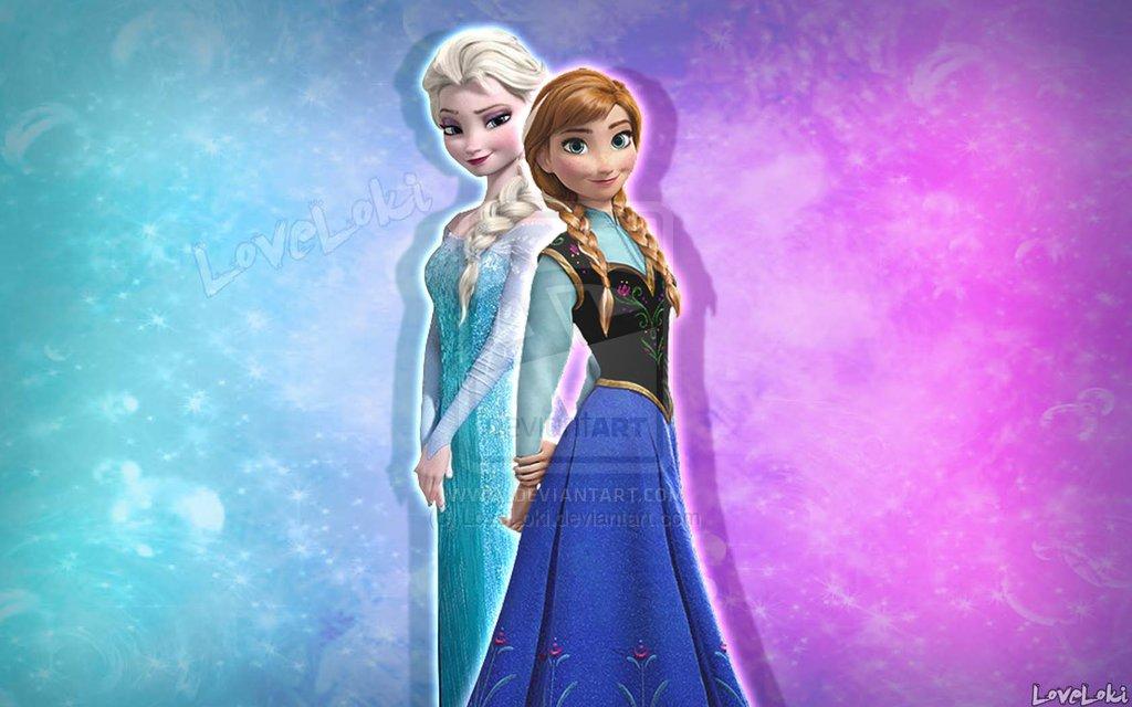Frozen Anna And Elsa Wallpaper Elsa and anna wallpaper by 1024x640