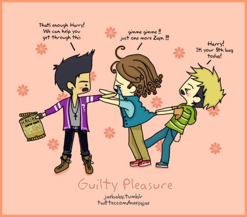 Cartoon Of ZaynHarry Niall   One Direction Fan Art 21927850 500x438