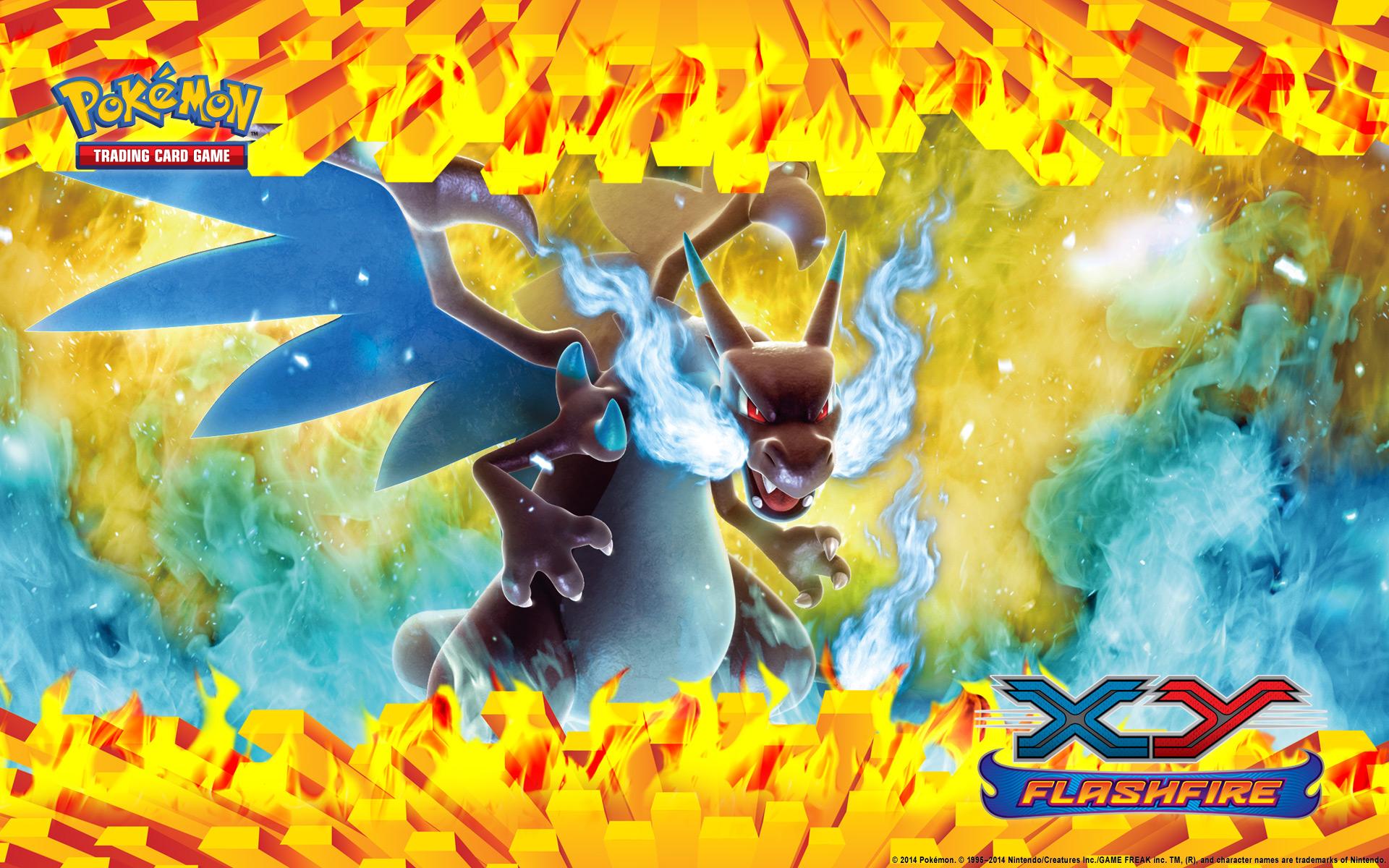 Pokemon Mega Charizard X Wallpaper