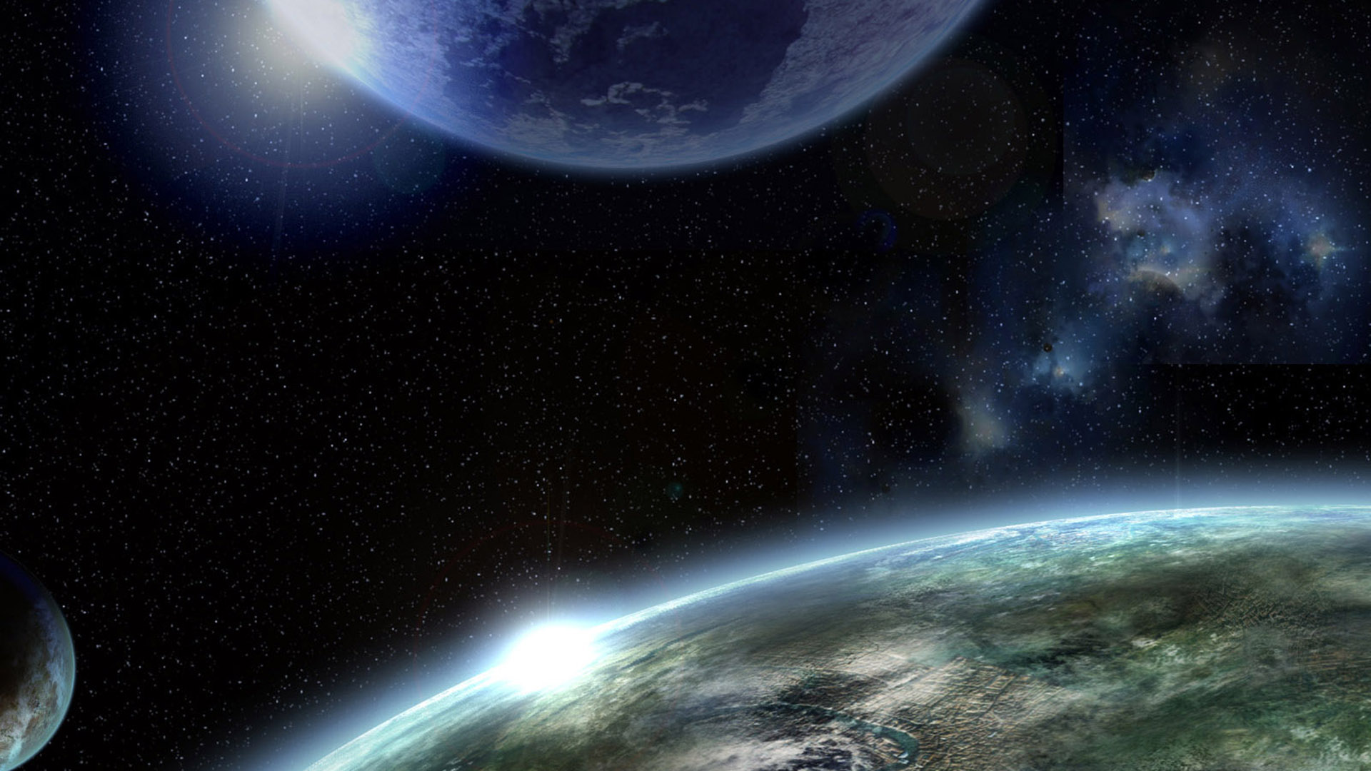 Hd Space Wallpapers 1080p - WallpaperSafari