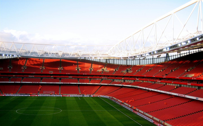 emirates stadium nearly empty 2592x1944 wallpaper Art HD Wallpaper 1440x900