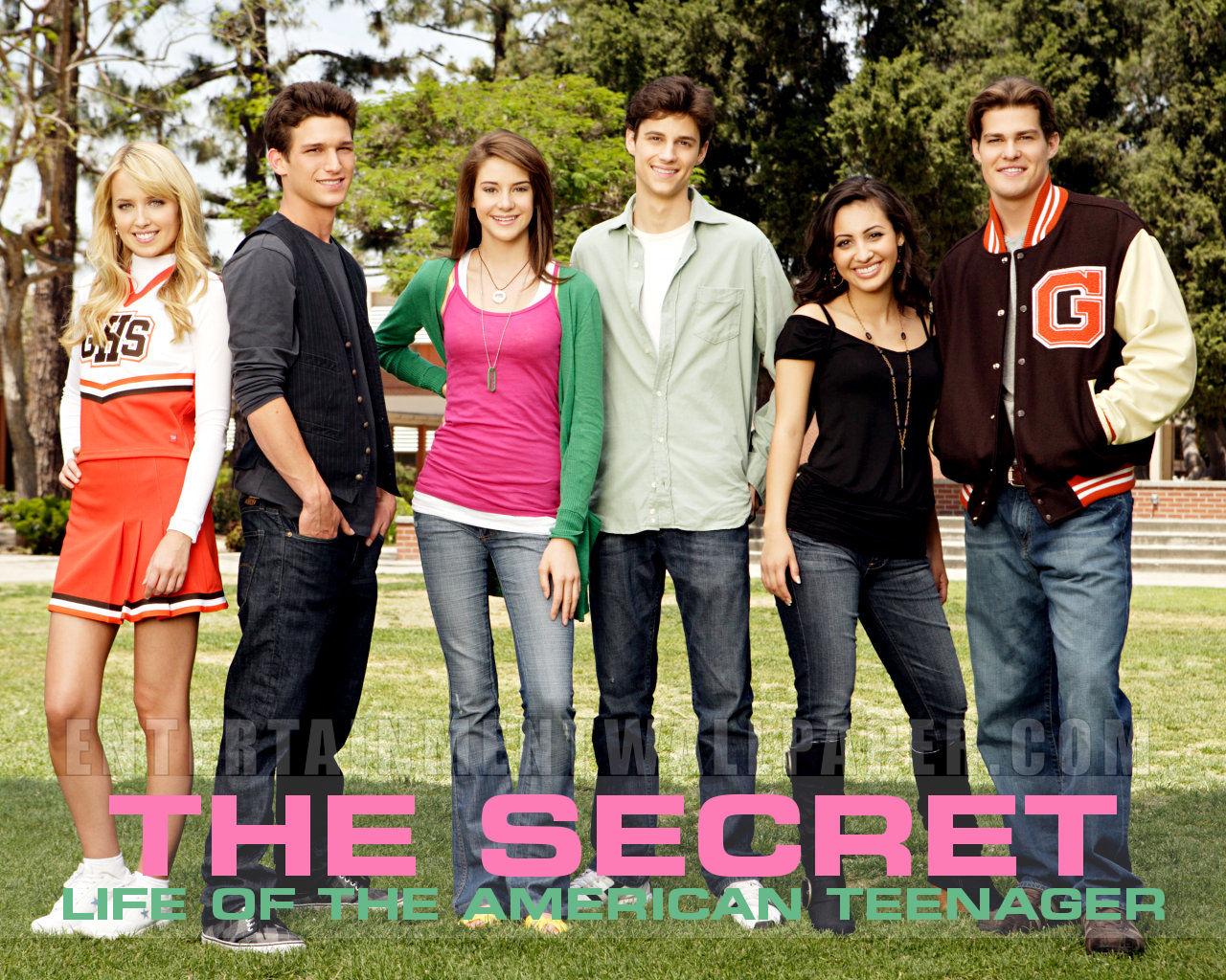 Best 72 The Secret Life of the American Teenager Wallpaper on 1280x1024