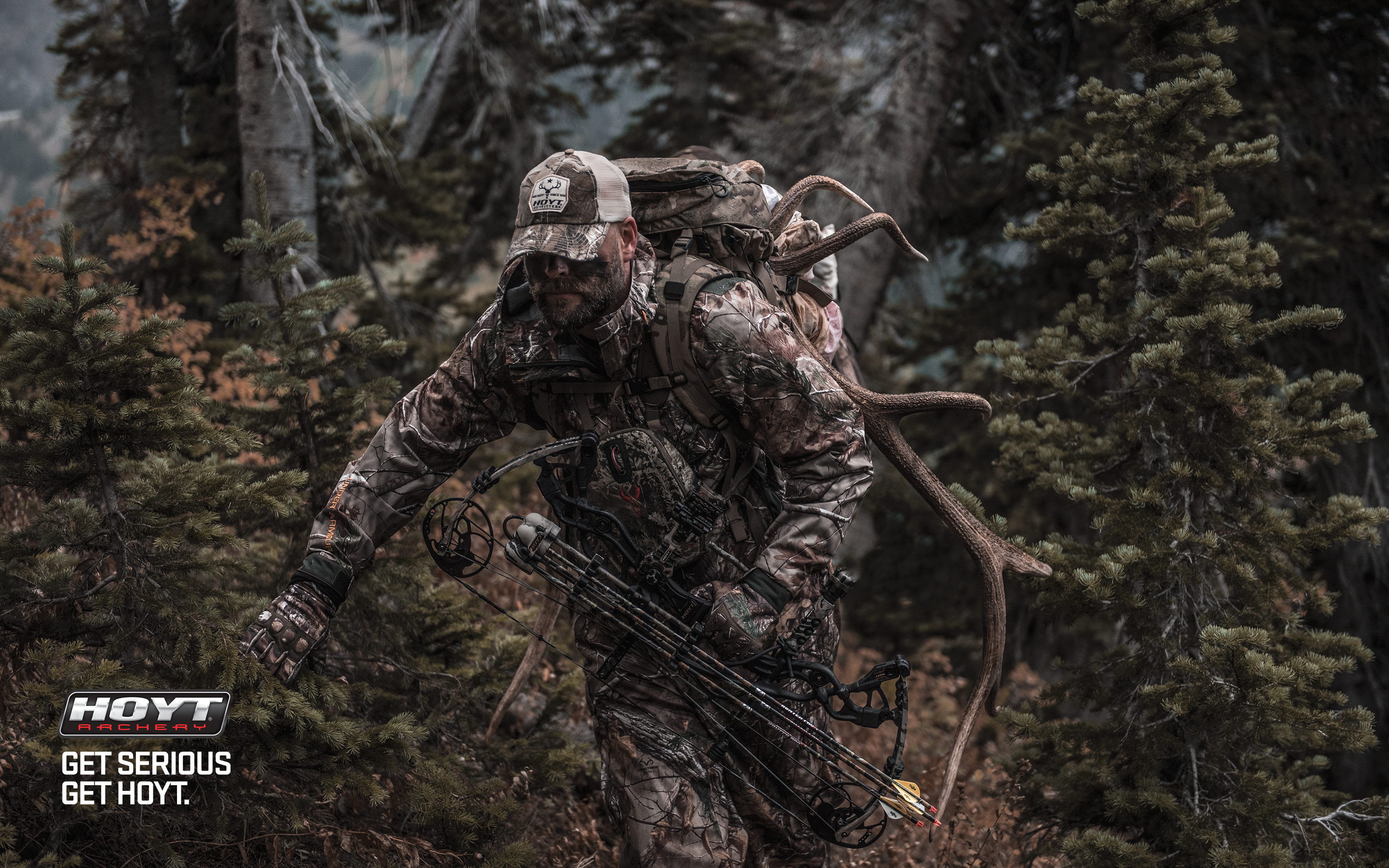 bowhunting wallpaper ignite wallpaper get serious get hoyt traditional 2880x1800