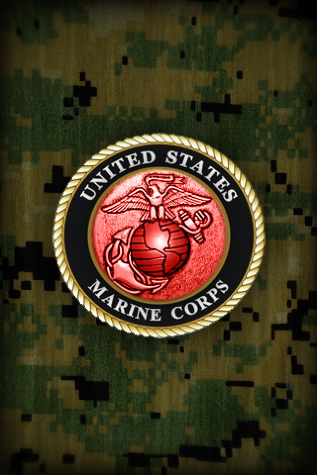 United States Marine Corps iPhone HD Wallpaper iPhone HD Wallpaper 640x960