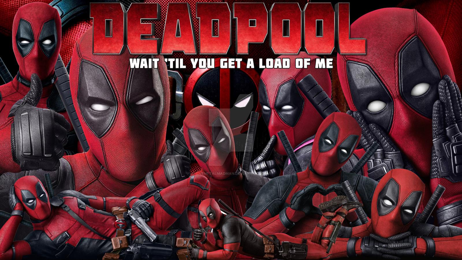 Deadpool Movie Wallpaper   Deadpool 2016 Wallpaper 39228353 1600x900